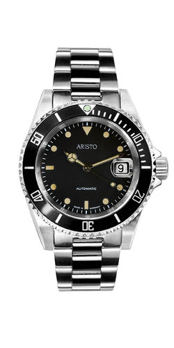 ARISTO Taucher Vintage Automatic Metallband